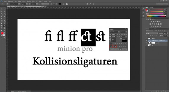 Defintion von Ligaturen in der Typografie (6)
