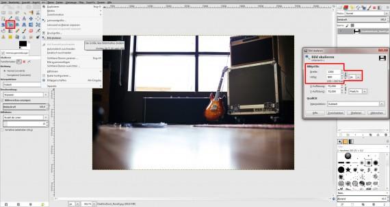 GIMP Bildbearbeitung Anleitung Fotobearbeitung (1)