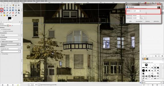 GIMP Bildbearbeitung Anleitung Fotobearbeitung (2)