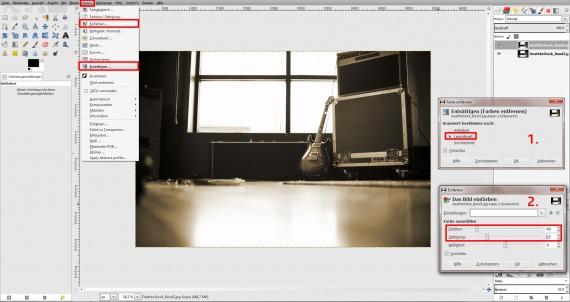 GIMP Bildbearbeitung Anleitung Fotobearbeitung (5)