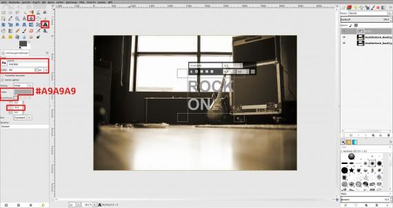 GIMP Bildbearbeitung Anleitung Fotobearbeitung (6)