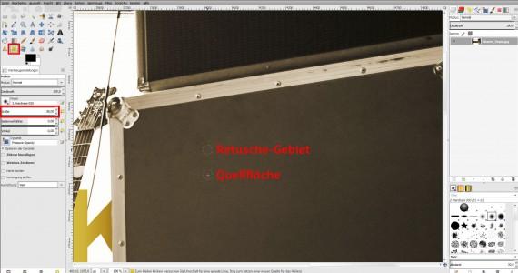 GIMP Bildbearbeitung Anleitung Fotobearbeitung (10)