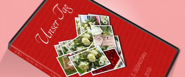 DVD Cover einer Hochzeit gestalten und die festliche Trauung digital festhalten