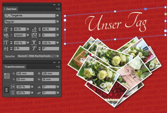 Inlay und Hülle für eine Hochzeit Video DVD (27)