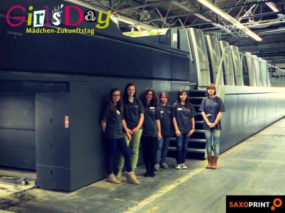 Girls'Day 2014 - Mädchen-Zukunftstag bei Saxoprint (1)
