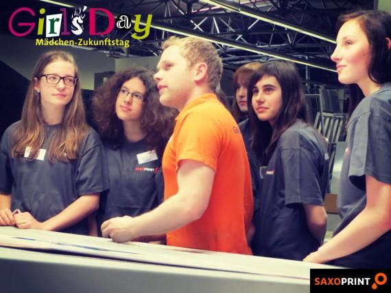 Girls'Day 2014 - Mädchen-Zukunftstag bei Saxoprint (2)