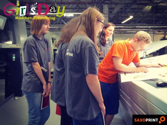 Girls'Day 2014 - Mädchen-Zukunftstag bei Saxoprint (3)