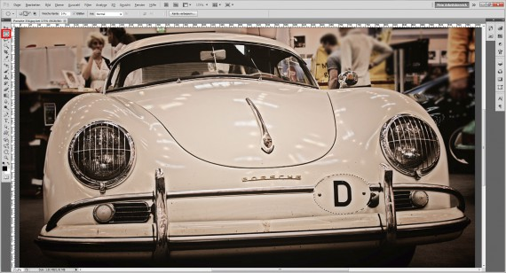 Photoshop CS6 freistellen Tutorial (1)