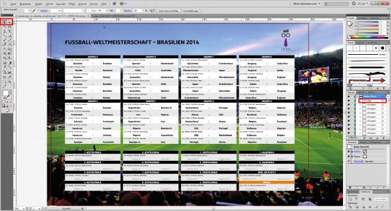 Fussball WM Spielplan Planer Kalender (3)