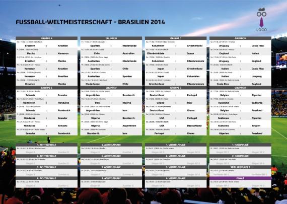 Fussball WM Spielplan Planer Kalender (9)