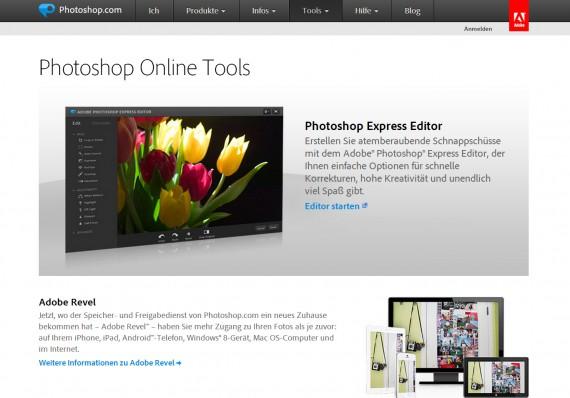 Fotobearbeitung online kostenlos