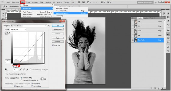 Haare freistellen in Photoshop (5)