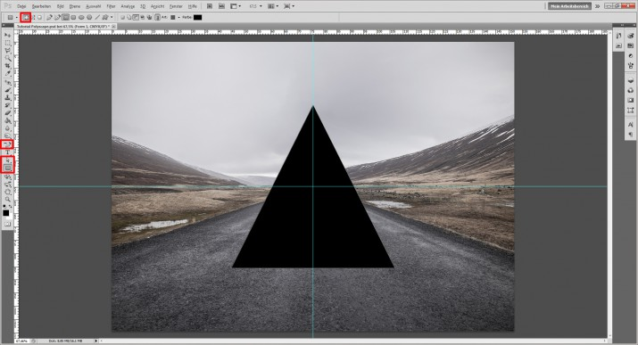 Polyscape Photoshop Tutorial (3)