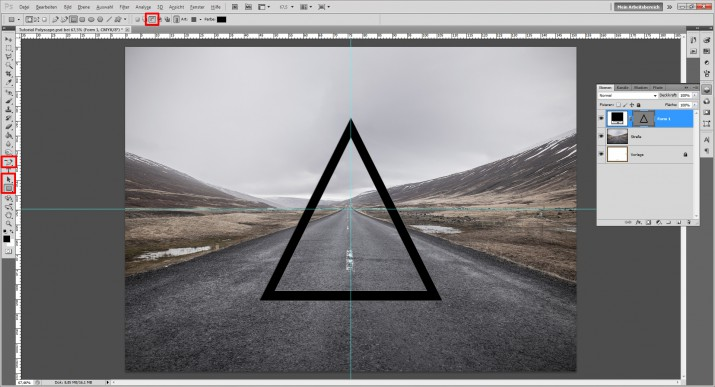 Polyscape Photoshop Tutorial (4)