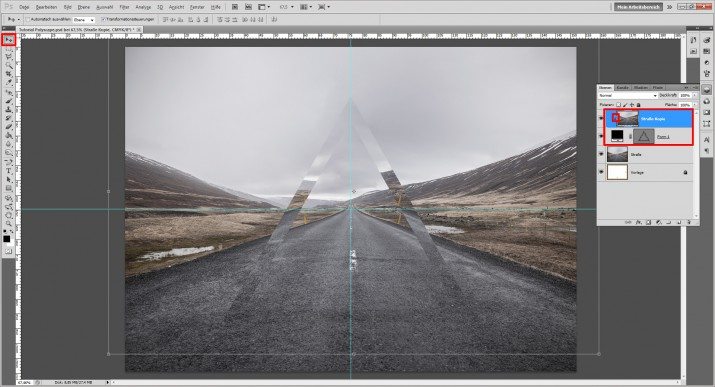 Polyscape Photoshop Tutorial (5)
