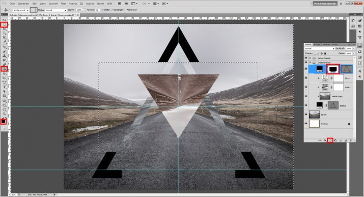 Polyscape Photoshop Tutorial (10)