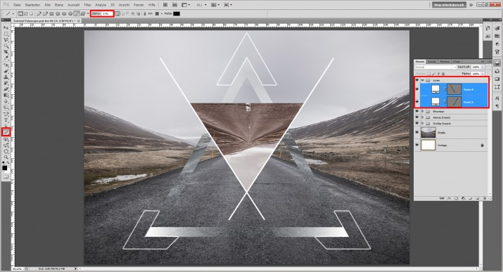 Polyscape Photoshop Tutorial (14)