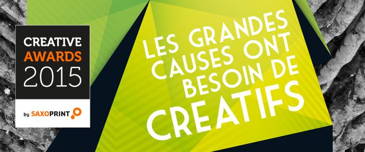"""Die """"Creative Awards by SAXOPRINT"""" – dem Klimawandel mit Kreativität Paroli bieten"""