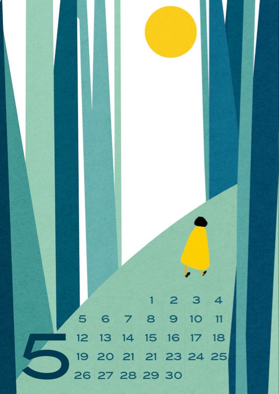 Kalender Design Inspirationen 2015 (17)