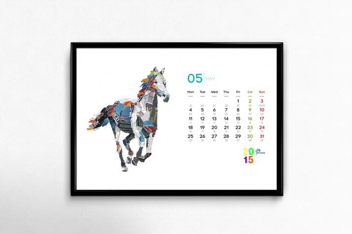 Kalender Design Inspirationen
