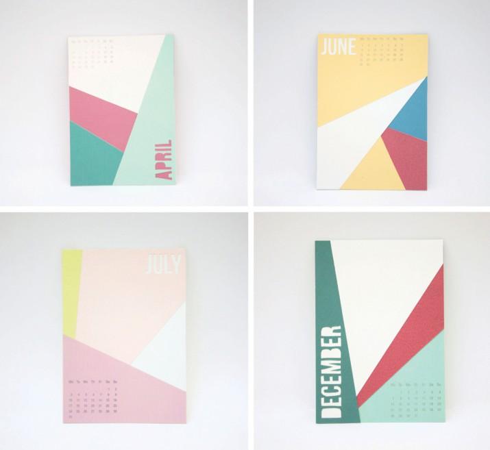 Kalender Design Inspirationen 2015 (21)