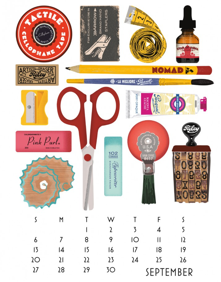 Kalender Design Inspirationen 2015 (4)