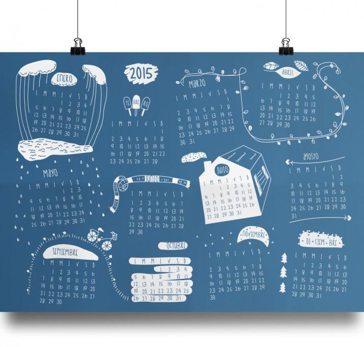 Kalender Design Inspirationen 2015 (44)