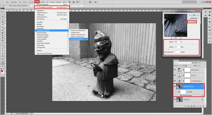 Duplexbild richtig erstellen in Photoshop (4)