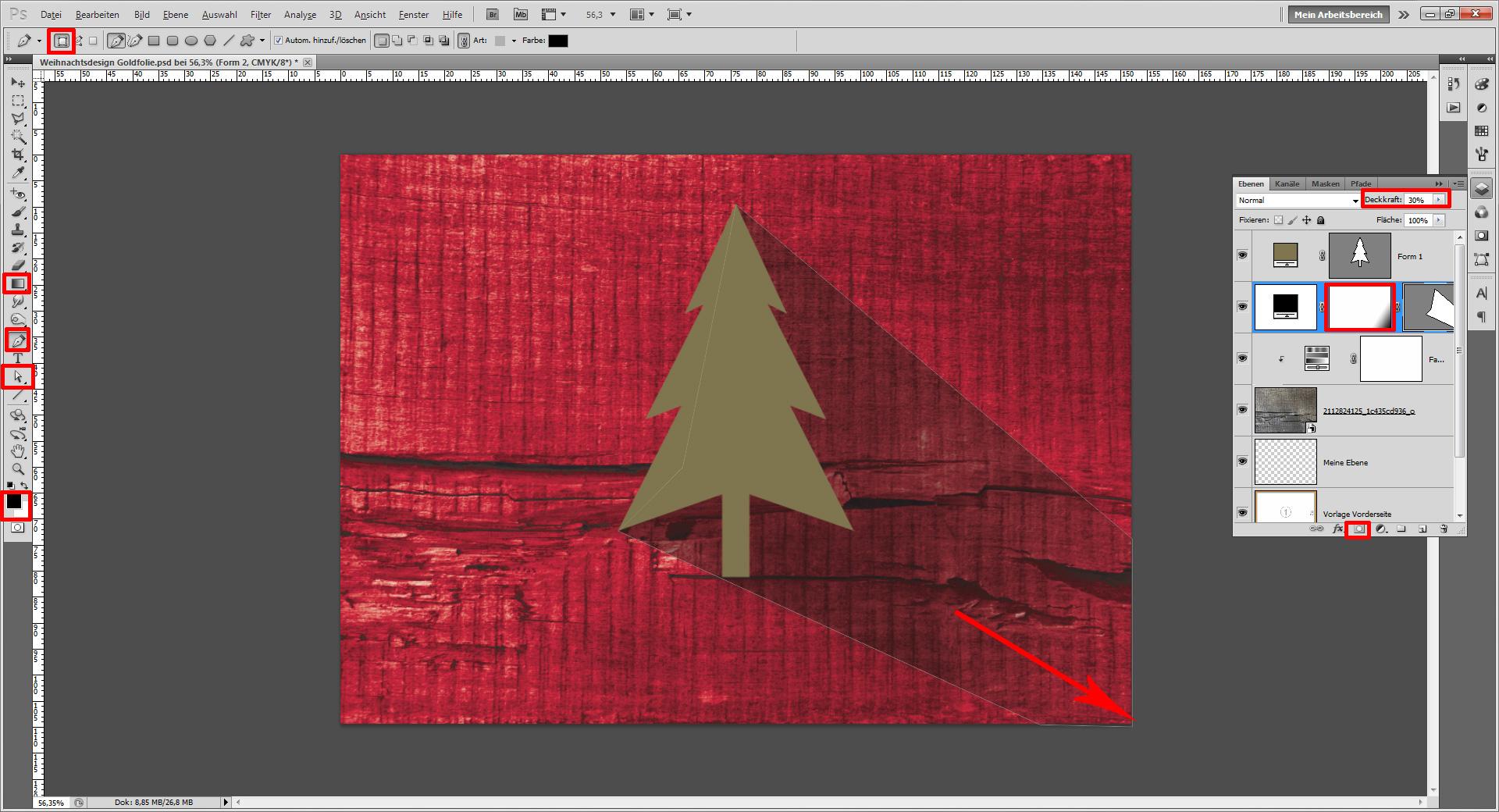 Firmen Weihnachtskarten Selbst Gestalten.Tutorial Weihnachtskarten Für Firmen Saxoprint Blog