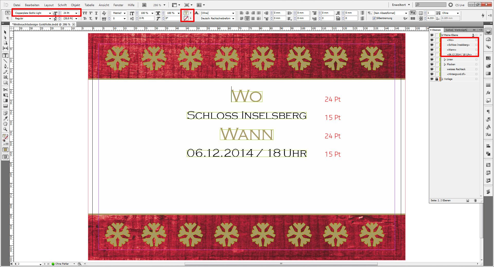 Tutorial weihnachtskarten f r firmen saxoprint blog for Weihnachtskarten erstellen