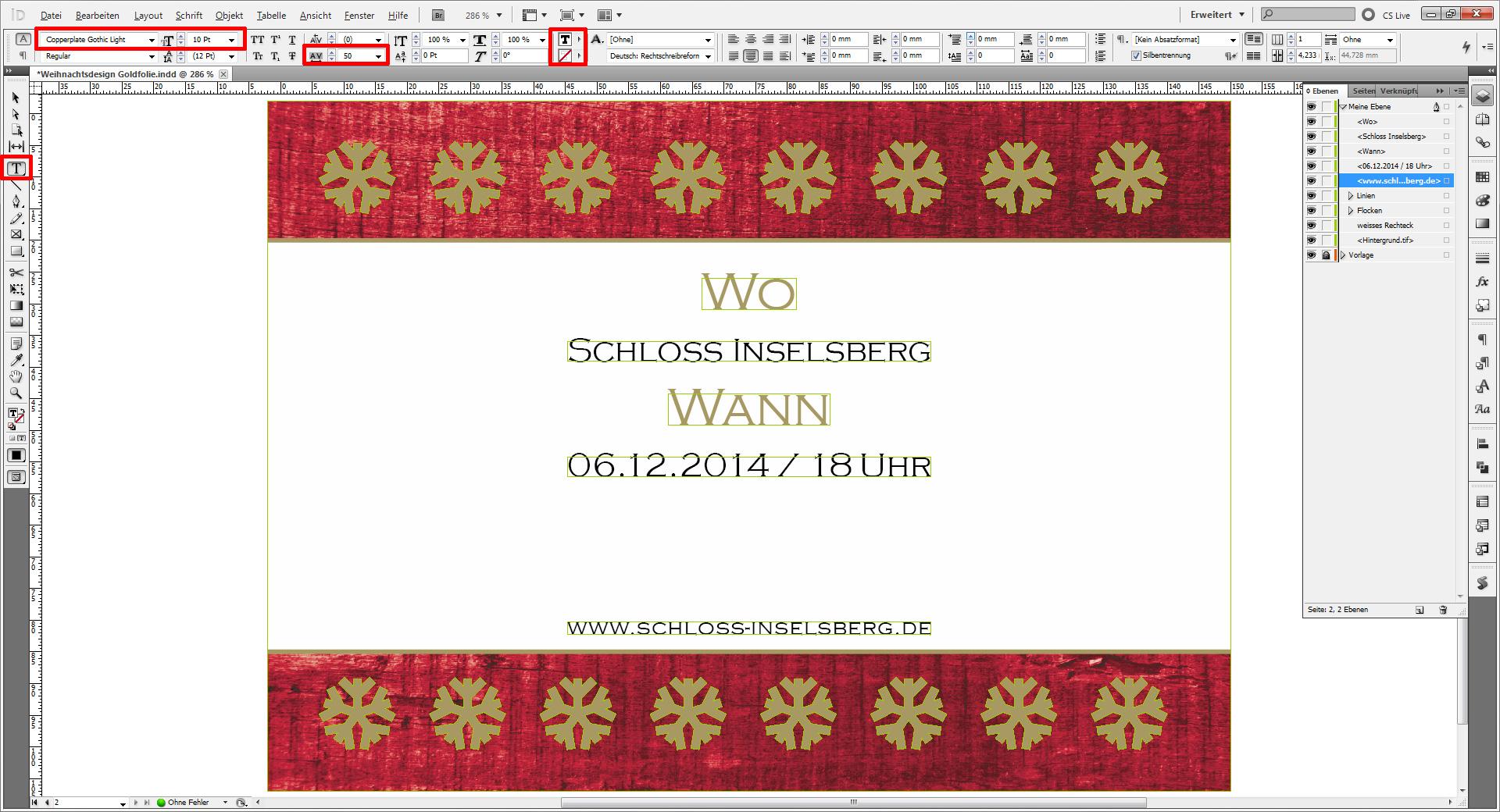 Tutorial weihnachtskarten f r firmen saxoprint blog - Weihnachtskarten erstellen ...