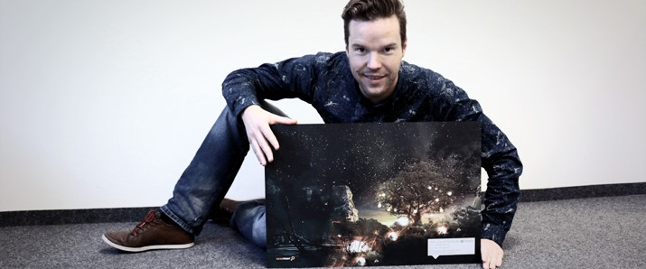 "Gewinne das TEN Collection-Artwork ""The Future Shangri-LA"""
