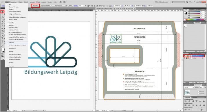 DIN lang Umschlag Gestaltung mit Logo (1)