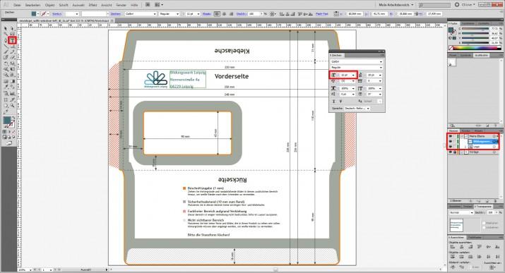 DIN lang Umschlag Gestaltung mit Logo (2)