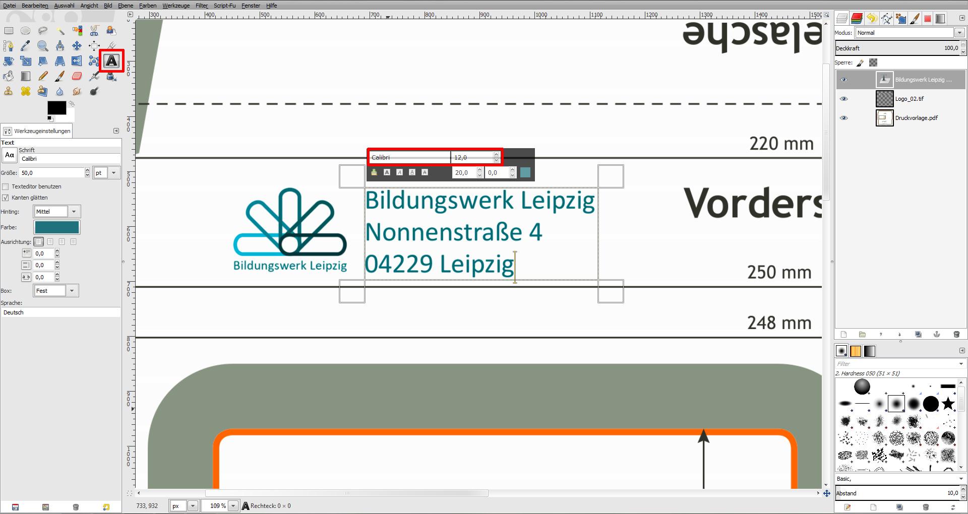 Umschlag Mit Logo Selbst Gestalten Saxoprint Blog