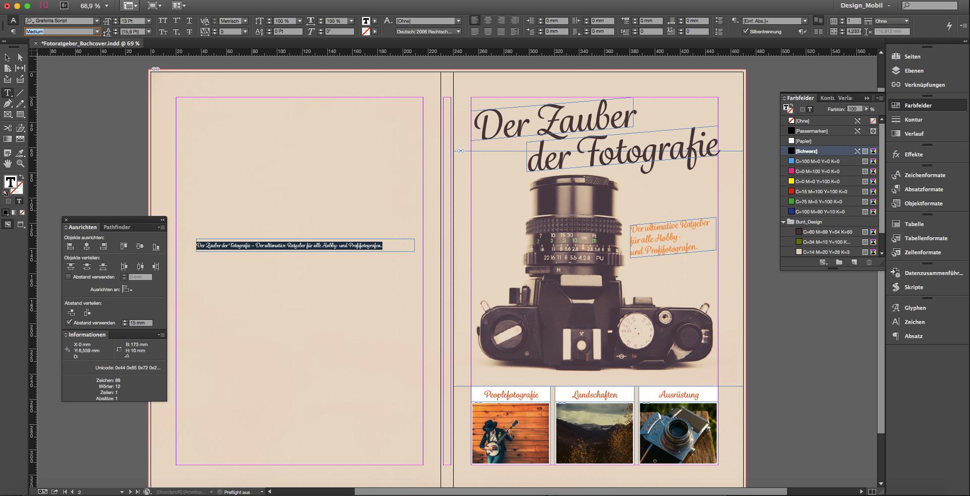 InDesign: Buchcover selbst gestalten » SAXOPRINT Blog