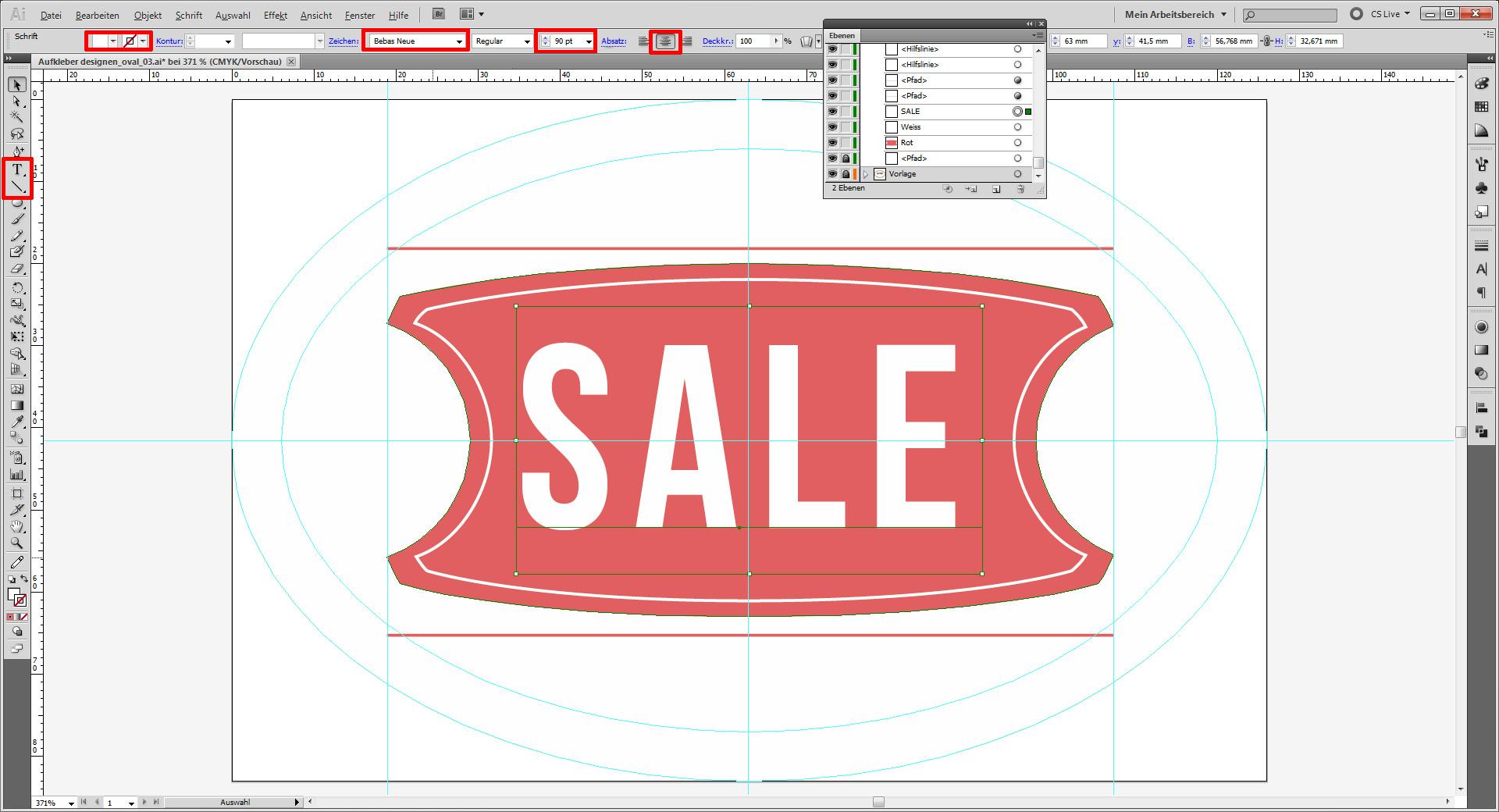 Aufkleber designen für SALE / Promotion » SAXOPRINT Blog