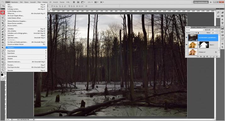Doppel- und Mehrfachbelichtung in Photoshop (2)