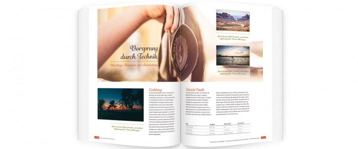 Sachbuch-Design: Die Buchseiten gestalten und layouten