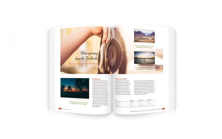 Ein Sachbuch layouten und Buchseiten gestalten (fertig)