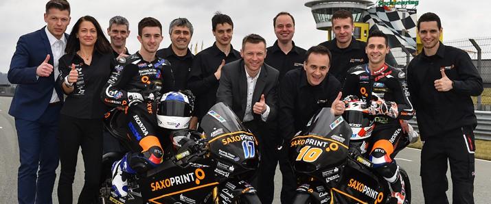 Das SAXOPRINT Racing Team Germany ist bereit für 2015