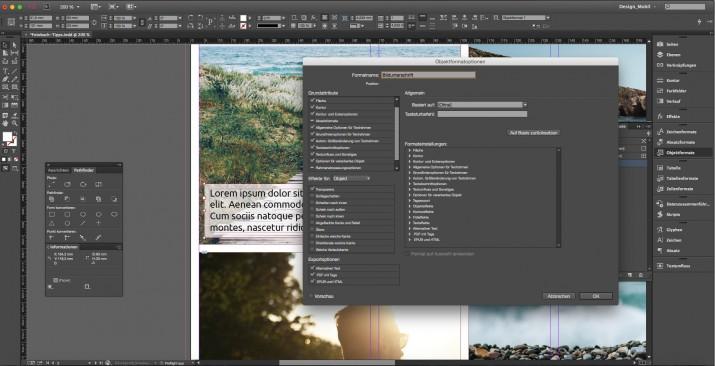 Tipps und Ratgeber für ein Fotobuch mit InDesign