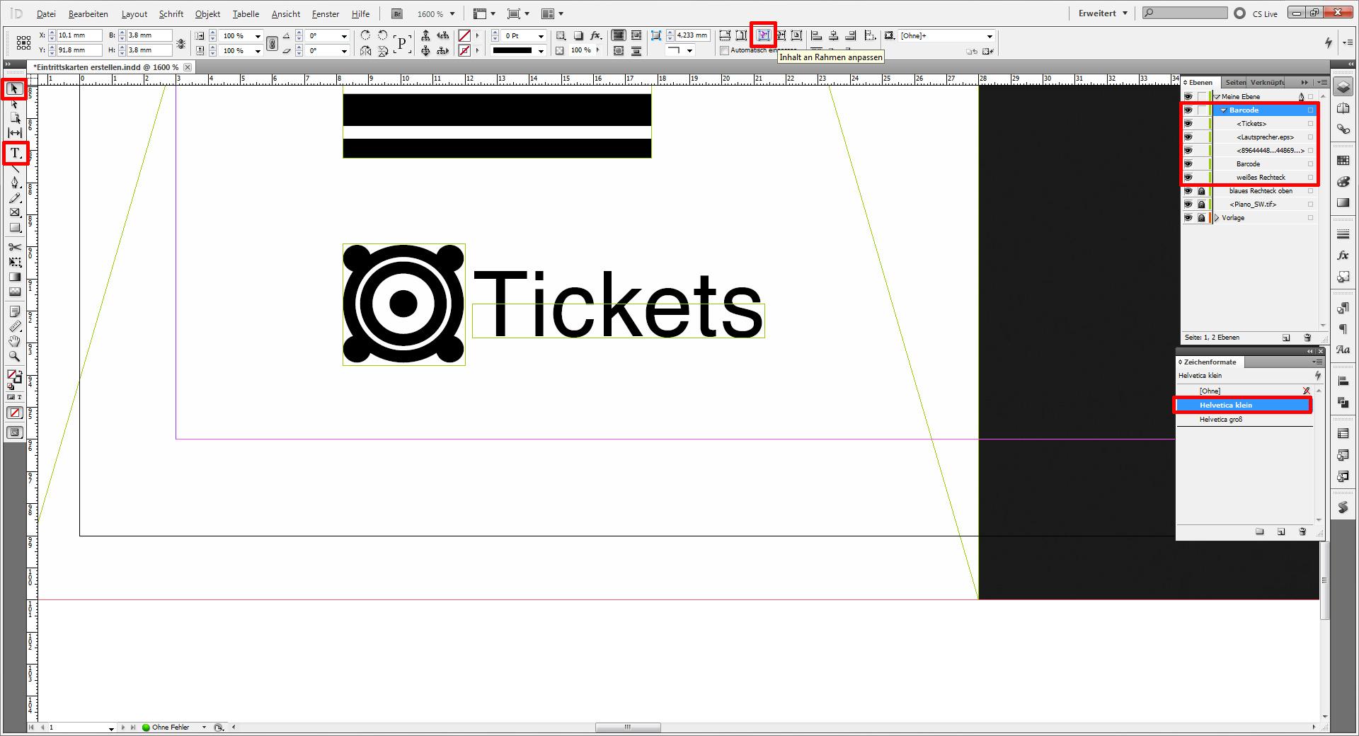InDesign-Tutorial: Eintrittskarten erstellen » SAXOPRINT