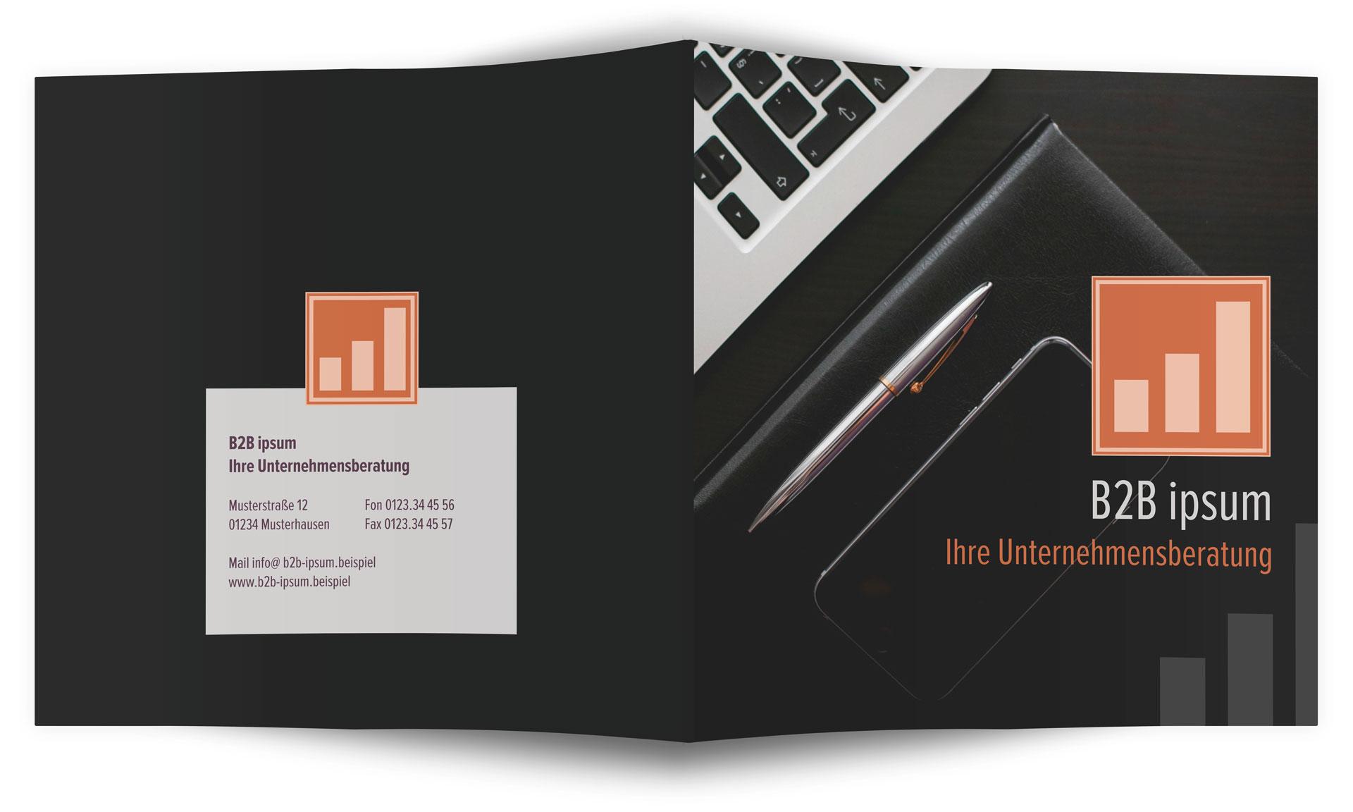 Flyer einer Unternehmensberatung erstellen » SAXOPRINT Blog