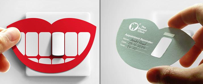 35 großartige Inspirationen für ein Terminkarten-Design