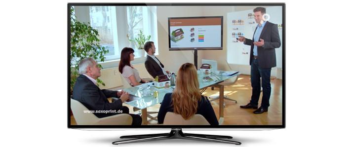 SAXOPRINT mit eigenen Werbespots im TV vertreten
