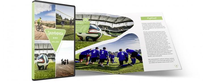 Ein aufregendes DVD-Booklet für euren Sportverein erstellen