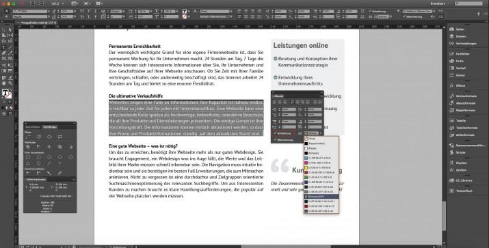 Mobiles Layouten mit der neuen Creative Cloud Aktualisierung (4)