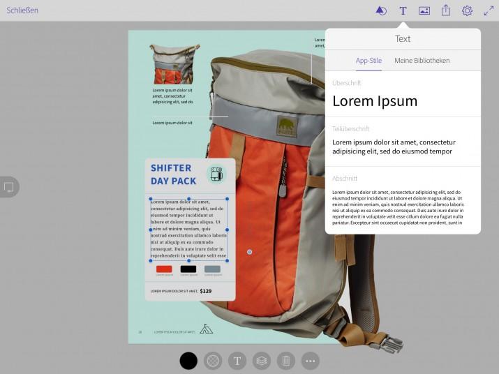 Mobiles Layouten mit der neuen Creative Cloud Aktualisierung (15)