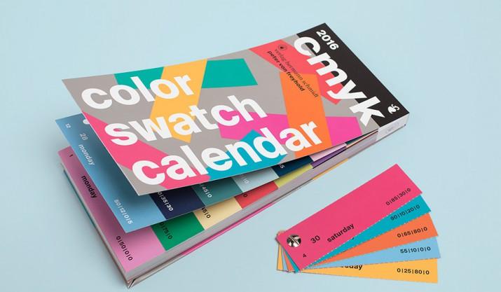 Inspiration für euer persönliches Kalender-Design 2016